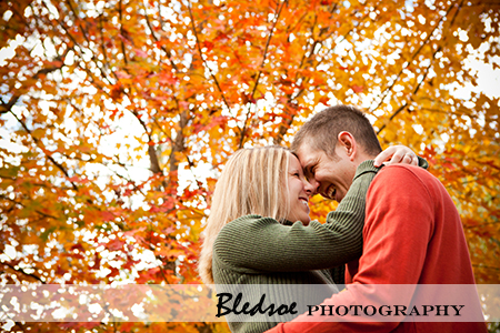 """Fall engagement photos at Campbell Station Park"""