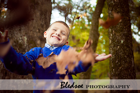 """Throwing Fall Leaves"""