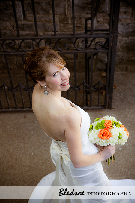 """Bride at Cheekwood Botanical Gardens"""